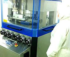 サプリメント(打錠・錠剤)を製造する機械