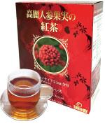 高麗人参果実の紅茶のパッケージ