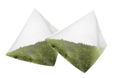 お茶の製品形態 テトラタイプの商品