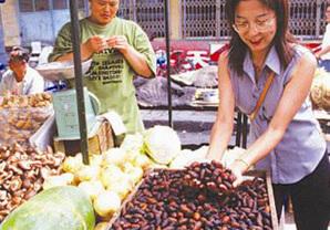 中国にある漢方原料素材の市場